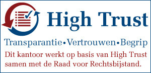Divorce Support is High Trust kantoor Raad voor Rechtsbijstand